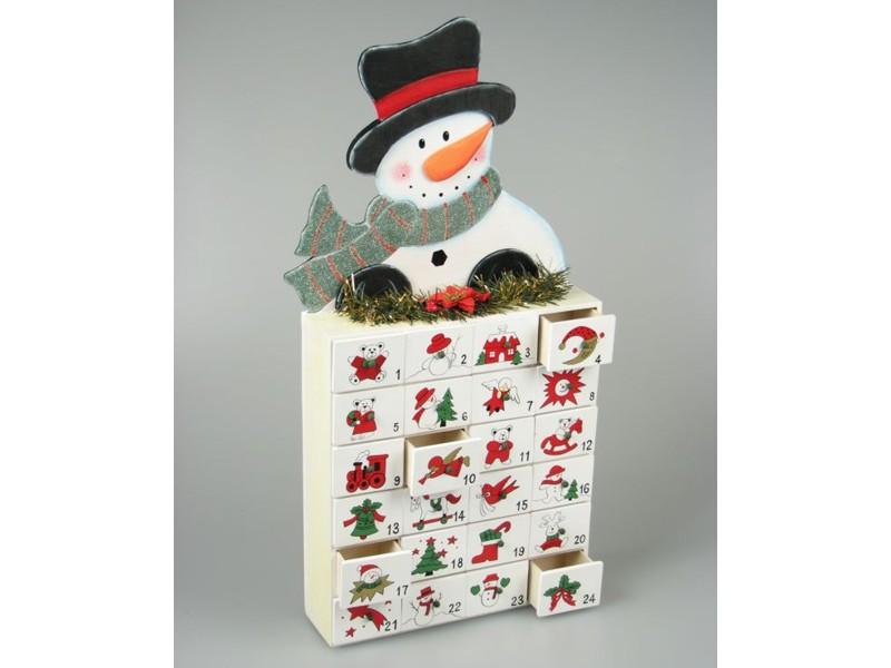 lidl adventni kalendar Adventní dřevěný kalendář   sněhulák | Dřevěný svět hraček  lidl adventni kalendar